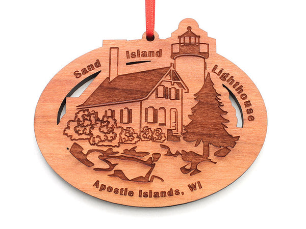 Good Earth Outfitters Sand Island Light Ornament - Nestled Pines