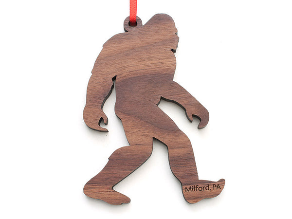 Milford Craft Show Sasquatch Ornament - Nestled Pines