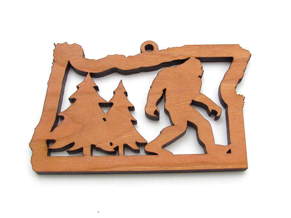 Oregon State Sasquatch Ornament - Nestled Pines