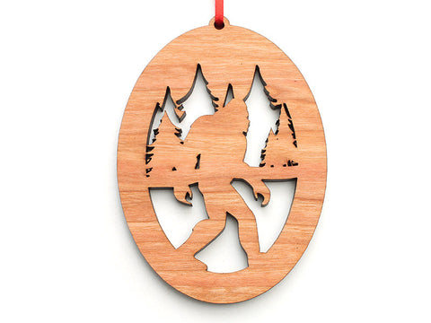 Northwoods Sasquatch Ornament - Nestled Pines
