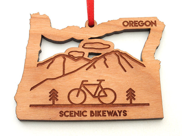 Oregon State Parks Scenic Bikeways Oregon State Ornament