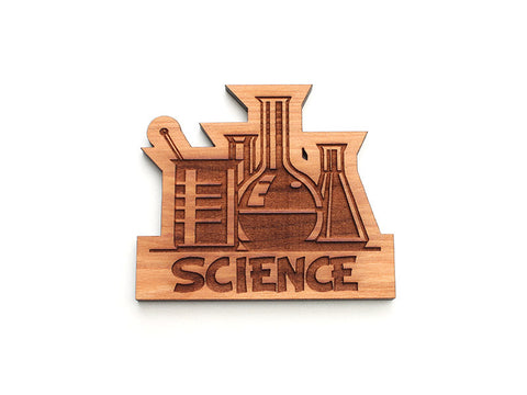 Science Glassware Magnet - Nestled Pines