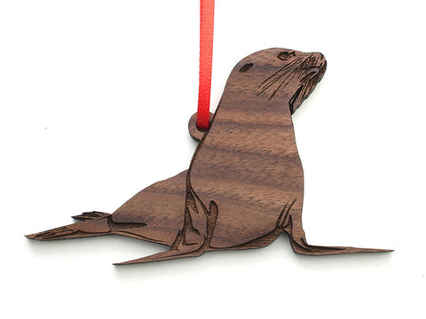Sea Lion Ornament - Nestled Pines