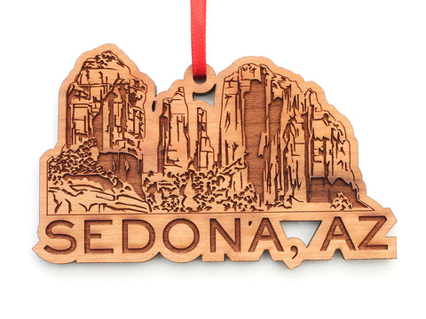 Sedona AZ Rock Formations Ornament
