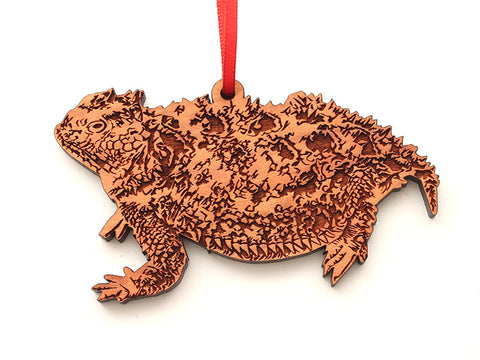 Short Horned Lizard Ornament