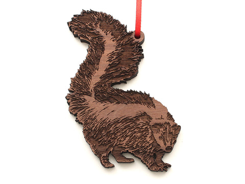 Skunk Ornament