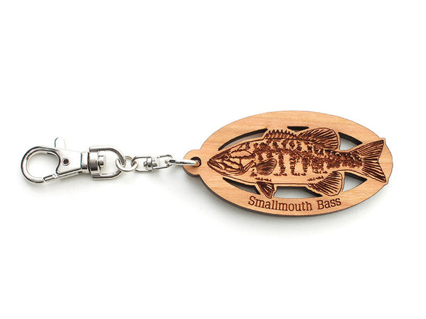 Smallmouth Bass Key Chain - Nestled Pines