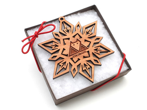 Wolf Creek Snowflake Gift Box - Nestled Pines - 1