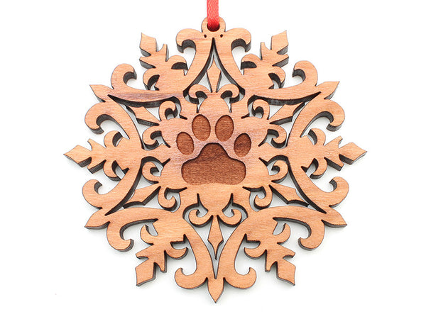 Turpentine Creek Snowflake Ornament