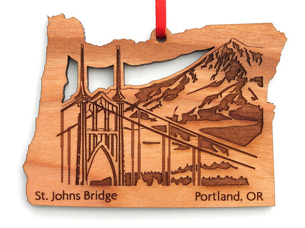 Kitchen Kaboodle Saint Johns Bridge Oregon Insert Ornament