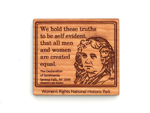 Women's Rights NHP Elizabeth Cady Stanton Magnet