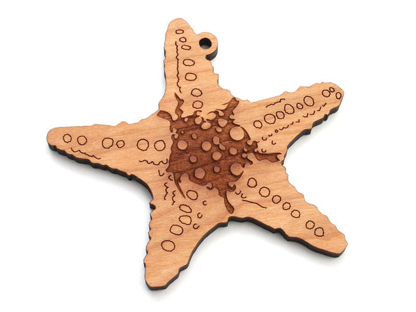 Starfish A Ornament - Nestled Pines