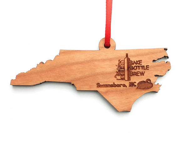 BBB North Carolina State Ornament - Nestled Pines
