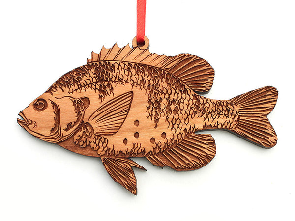 Sunfish Ornament - Nestled Pines