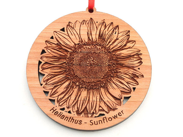 Sunflower Flower Ornament