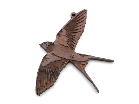Barn Swallow Ornament - Nestled Pines