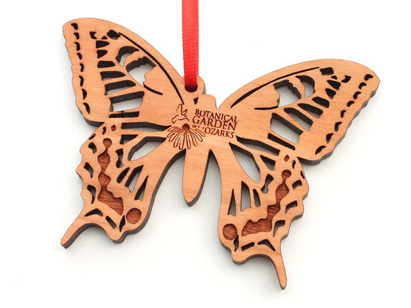 Botanical Garden of the Ozarks Swallowtail Butterfly Ornament