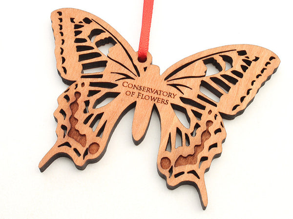 Conservatory of Flowers Swallowtail Butterfly Ornament