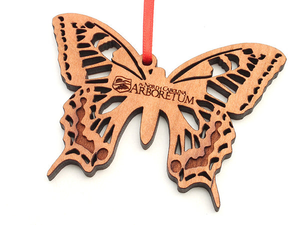 North Carolina Arboretum Swallowtail Butterfly Ornament