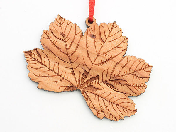 Blumen Gardens Sycamore Leaf Detailed Ornament - Nestled Pines