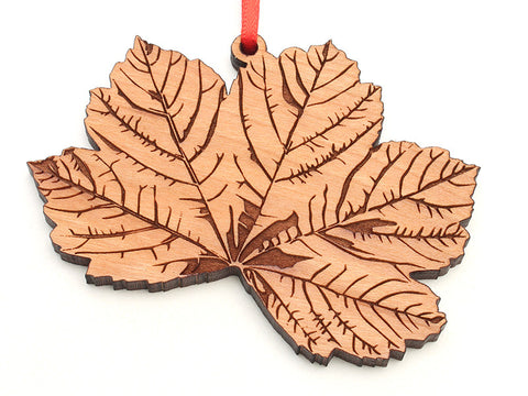 Sycamore Leaf Ornament