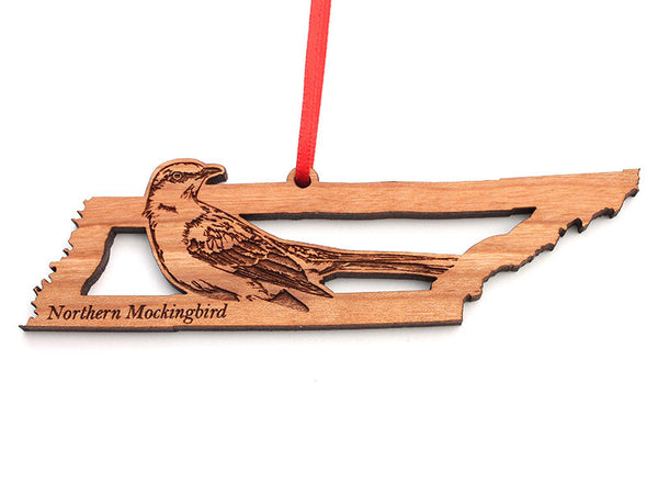 Tennessee State Bird Ornament - Northern Mockingbird