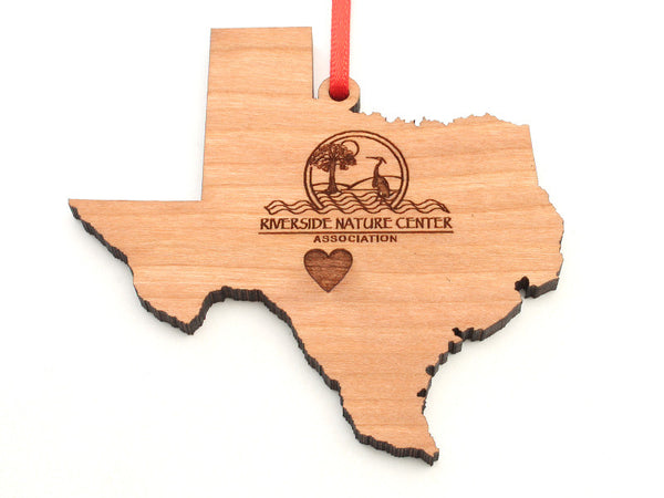 Riverside Nature Center Texas Logo Insert Ornament