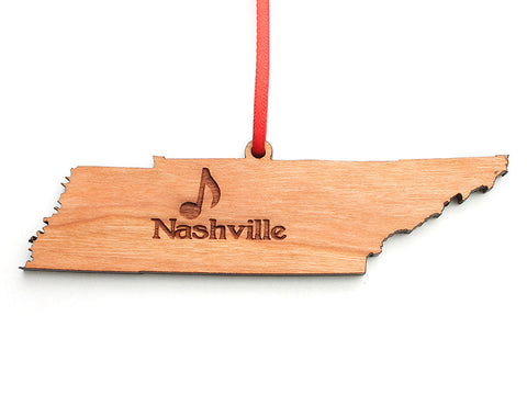 Tennessee State Ornament - Nestled Pines