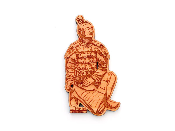Field Museum Terra Cotta Warrior Magnet - Nestled Pines
