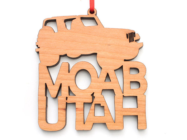 Moab Jeep Ornament - Nestled Pines