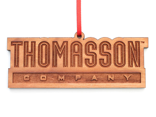 Thomasson Logo Cut Out Ornament