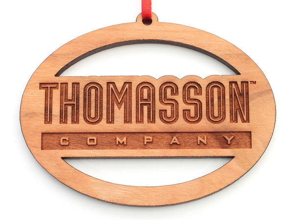 Thomasson Logo Oval Ornament