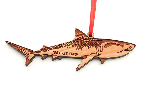 Maui Ocean Center Tiger Shark Ornament