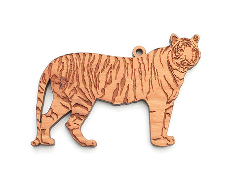 Tiger Ornament - Nestled Pines