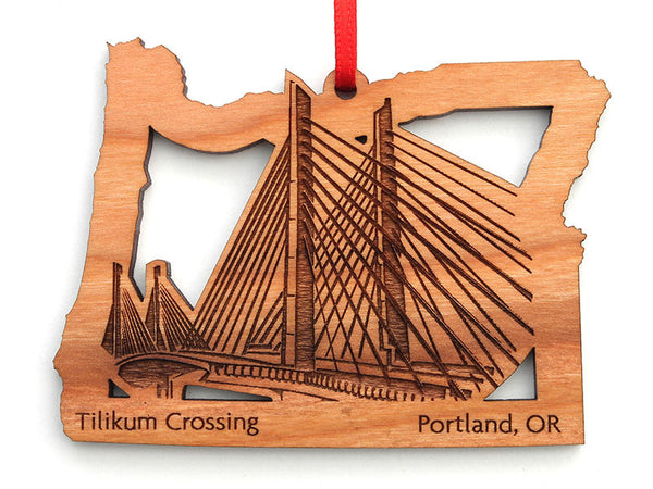 Kitchen Kaboodle Tilikum Crossing Oregon Insert Ornament