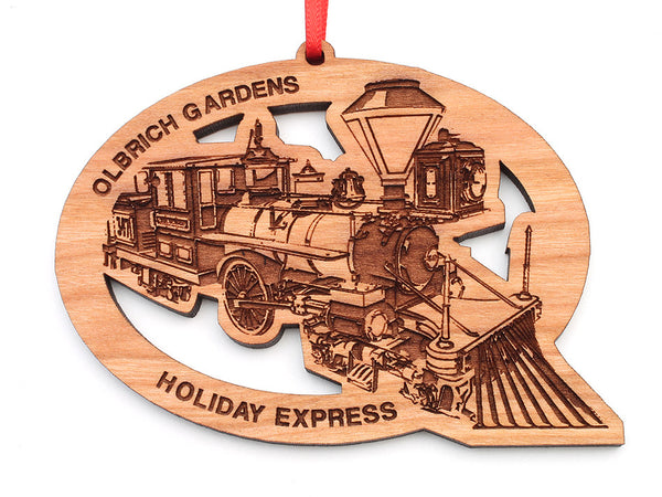 Olbrich Gardens Holiday Express Ornament - Nestled Pines