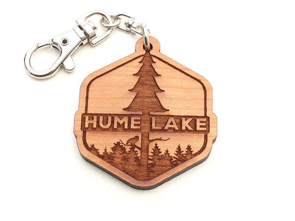 Hume Droplet Tree Logo Key Chain