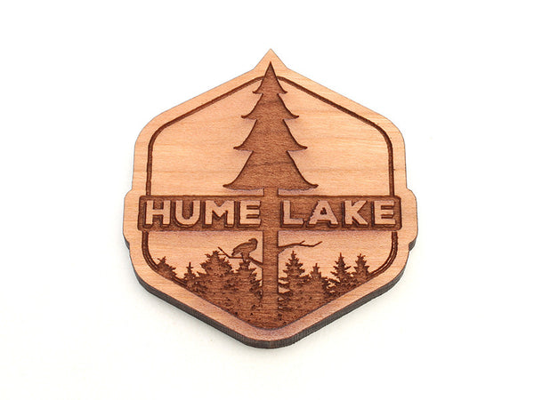 Hume Droplet Tree Logo Magnet