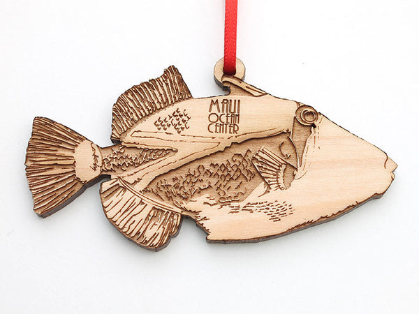 Triggerfish Ornament