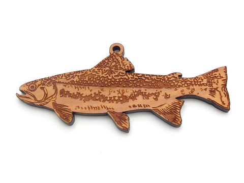 Brook Trout Ornament - Nestled Pines