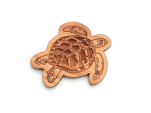 Sea Turtle S Magnet ND - Nestled Pines