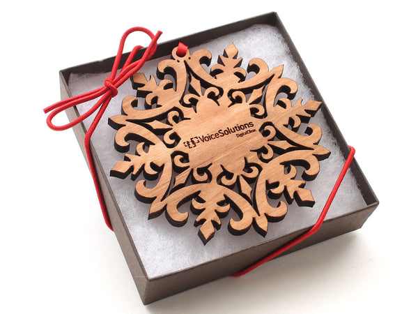 Voice Solutions Snowflake Gift Box
