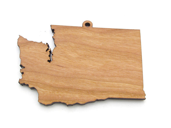 Washington State Ornament - Nestled Pines