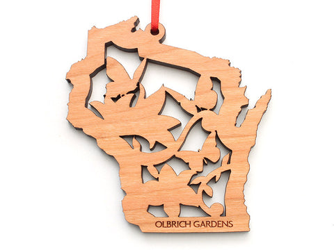 Olbrich Gardens WI Butterfly Insert Ornament - Nestled Pines