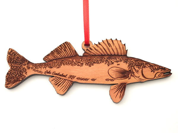 Jamestown Resort and Marina Walleye Ornament