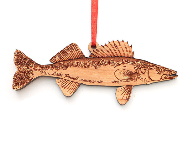 Lake Powell Walleye Ornament - Nestled Pines