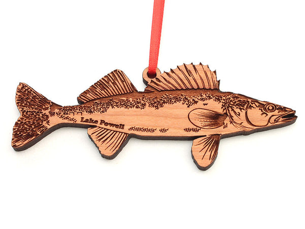 Lake Powell Paddleboards Walleye Ornament