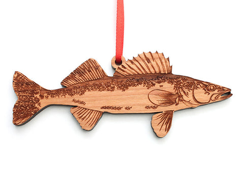 Walleye Ornament - Nestled Pines