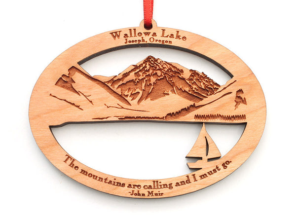 Copper Creek Wallowa Lake Ornament - Nestled Pines