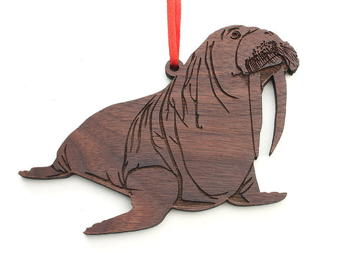 Walrus Ornament - Nestled Pines